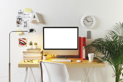 Desk organization can make you more productive.