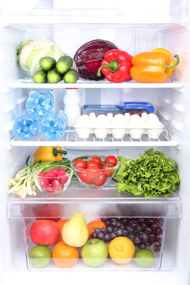 Organize Your Fridge And Eat Healthier This Year