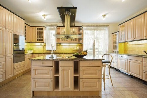 Consider these easy ways to create a kitchen island.